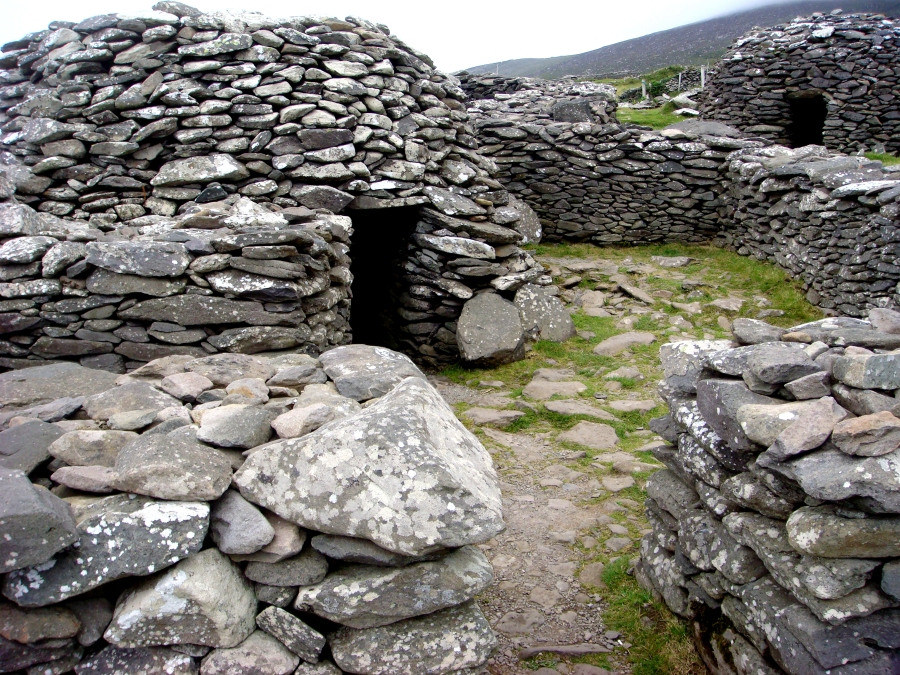 Ring Forts (also called beehive huts)