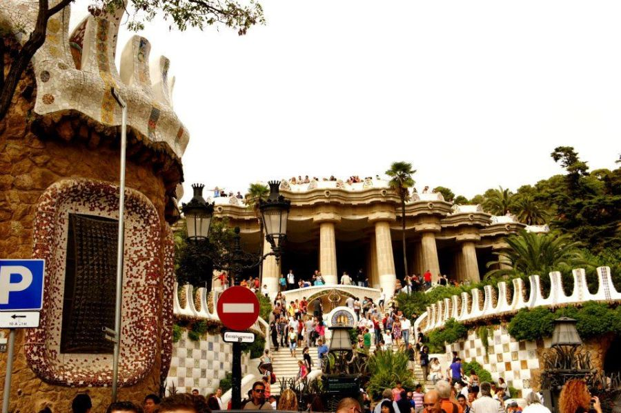Entrance to Parque Guell